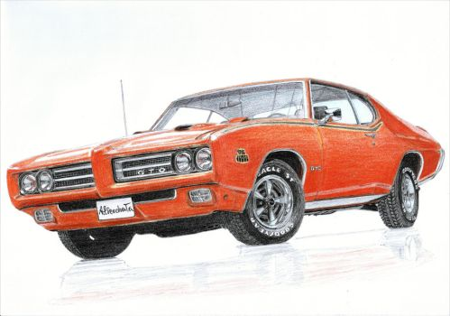 Pontiac GTO The Judge 3/3 by PaperGarage