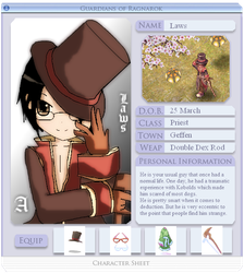 GoRO Character Sheet - Laws by Kaolyne