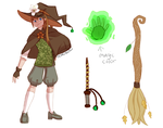 Fletcher Witch Concept by PearlyGlow