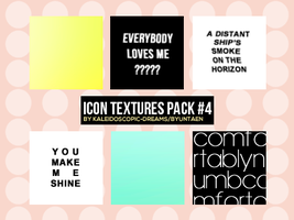 Icon Textures: Pack #4 by Kaleidoscopic-Dreams