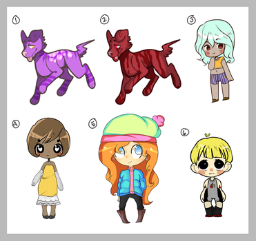 [10 Point] SALE ADOPTS - 2 LEFT by Ryno-Chalklut