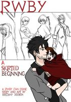 A Skirted Beginning cover WIP by Imbriaart