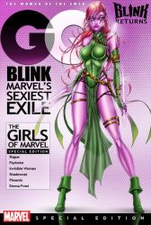 Blink Xmen  Exiles by jamietyndall