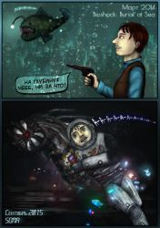 Adventures of Captain BlackSilver (SOMA/Bioshock) by SeaCat2401