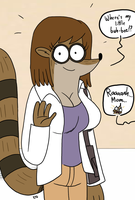 Regular Show - Rigby's mom by theEyZmaster