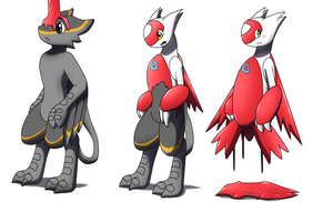 Latias TF TG by Avianine