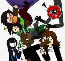 A squad of oc by Firianne