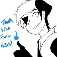 Thanks for the Fav and Watch by SugaryDeath