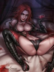 Rayne from BloodRayne by aromasensei