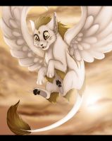 High in the sky by Miosita