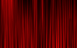 Stage curtain stock free for use by Angi-Shy