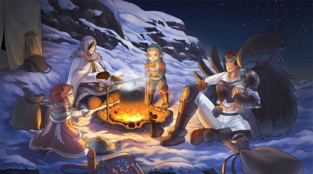 Mission 3: Cooking Quest by yami-izumi