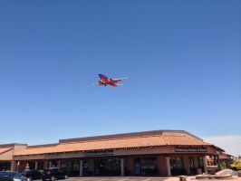 Southwest Airlines on Approach by AthenaIce