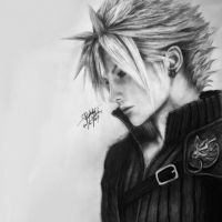 Cloud Strife - Final Fantasy VII by stephattyy