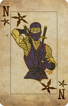 Ninja Card by Scadilla