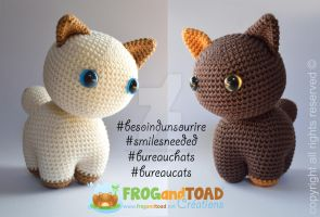 BureauChats / BureauCats - FROGandTOAD Creations by FROG-and-TOAD