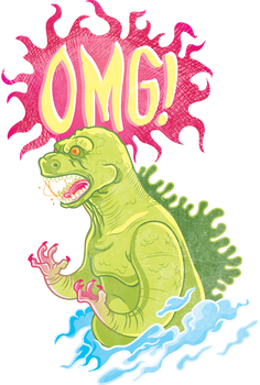 OHMYGODZILLA by piece-of-kayk