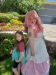Rose Quartz and Stevonnie Cosplay (Anime Midwest) by ShadyDarkGirl