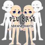 P2U - Neutral Base by Kariosa-Adopts