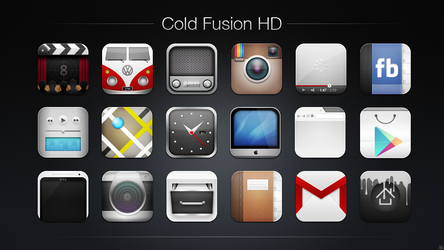 Cold Fusion HD Icon Pack by chrisbanks2