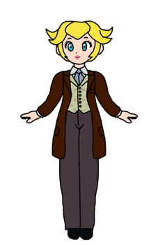 Peach - Dr Who (Peter Cushing) by KatLime