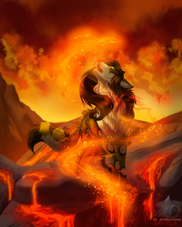 (CM) .:Volcanic Soul:. by SKproductionsArt