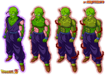 piccolo super namek color by Naruttebayo67