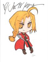 Edward Elric from FMA by sures1109