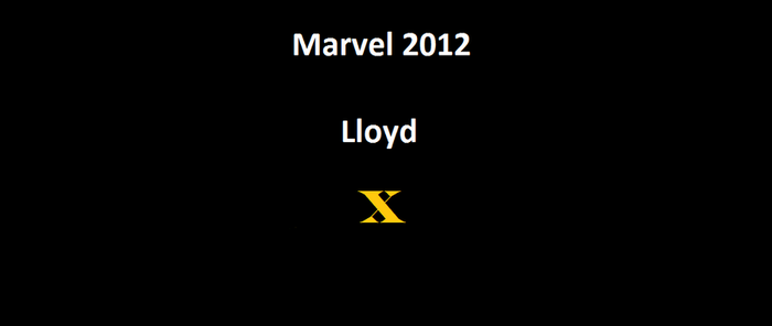 Marvel 2012 Lloyd by RoninReviews3