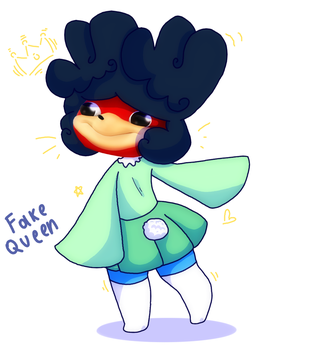 Fake Queen by SnakeCatPie