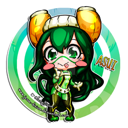 Asui [Boku no Hero Academia Fan-Art] by Jesse-Dixium