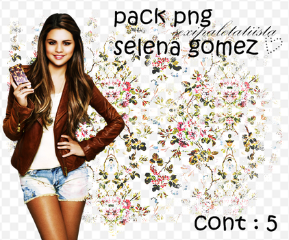 Pack png selena gomez by sexipaletatinista