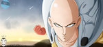 Saitama  |one punch man| by Ipra-shelby by Ipra-Shelby