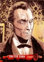 Baron Von Frankenstein- Peter Cushing by RobertHack
