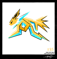 Jolteon!  Pokemon One a Day!