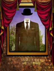 The new portrait of Magritte by ShaneGallagher