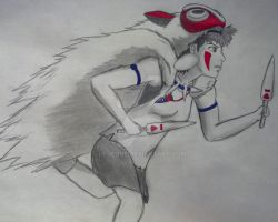 Princess Mononoke by Hedenus