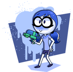 Inkling Navy by YellowAngiruOfficial