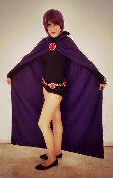 Raven (cosplay) Teen Titans GO! by DevilEnvy