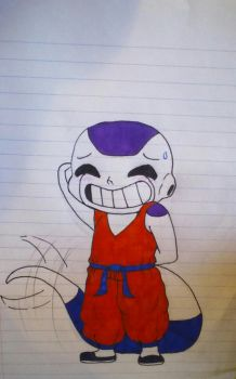 Young frieza : aw go on it wasn't that big a deal by Asguardiansilver