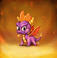 Spyro 20th by Tonzuko