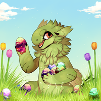 Bob Egg Hunt [Header] by GreaserDemon
