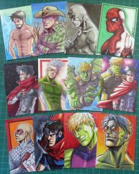Sketch cards by Cris-Art