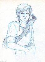 Kvothe__sketch again 3 by MartAiConan