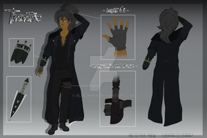 Thanatos - concept reference sheet #2 by Blue-Krew