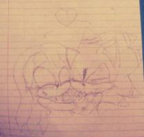 Kyle Terega x Emily the Echidna (not drawn by me) by ShadAmyfangirl129