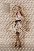 Dress with matching wallpaper dreamy by muffinn2