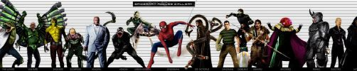 SPIDERMAN ROGUES GALLERY by Art-by-Jilani