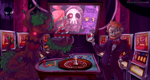 .:Commission:. Haunted Casino by Lisosa