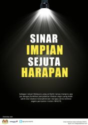 Malay PSA print ads for missing aircraft of MH370 by stopidd